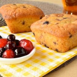 Moelleux aux fruits rouges bio et sans gluten